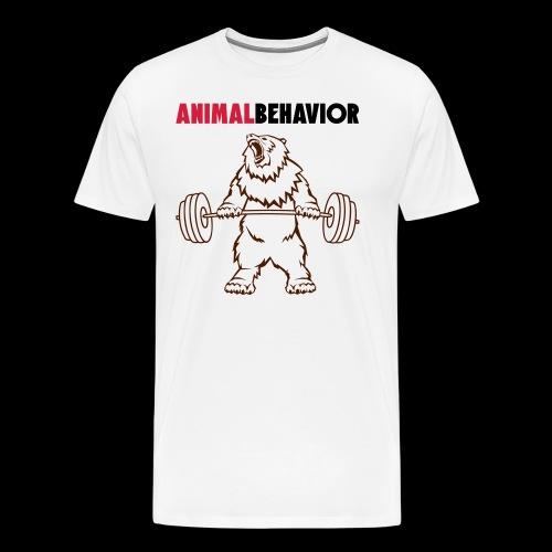 Animal behavior color oben - Männer Premium T-Shirt