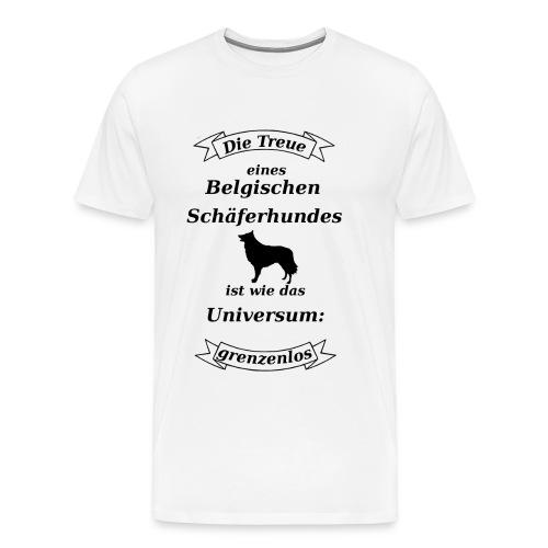 Belgischen Schaeferhundes Treue - Männer Premium T-Shirt