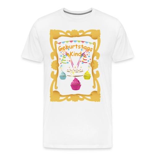 Geburtstags shirt 1 - Männer Premium T-Shirt