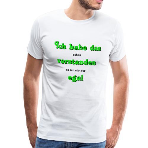 verstanden - Männer Premium T-Shirt