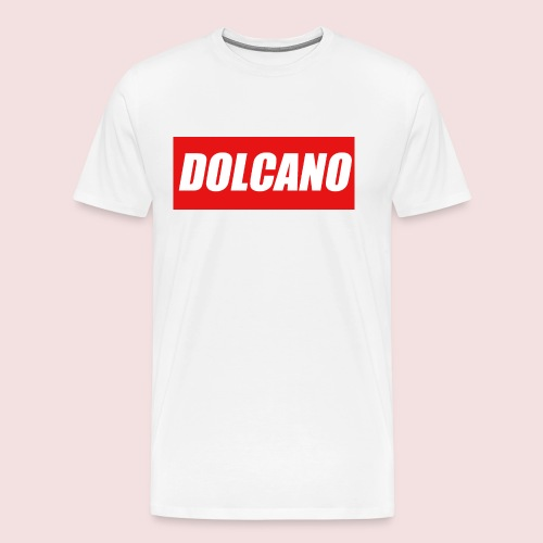 DOLCANO Box Logo Short Sleeved T-Shirt. - Men's Premium T-Shirt