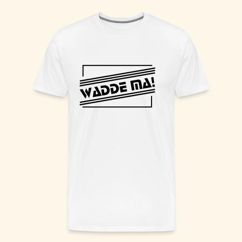 Wadde ma! RETRO-Style - Männer Premium T-Shirt