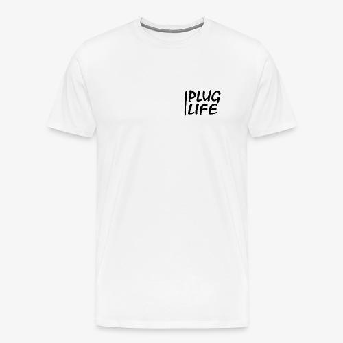 PLUG LIFE logo - Men's Premium T-Shirt