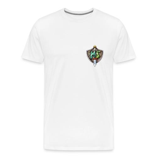 MineSucht Logo - Männer Premium T-Shirt