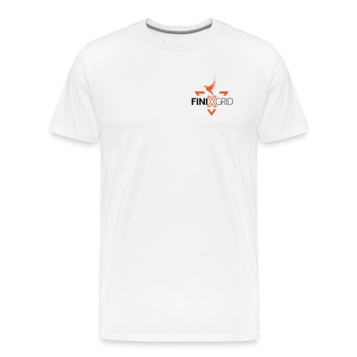 Finix Orange 2 - Men's Premium T-Shirt