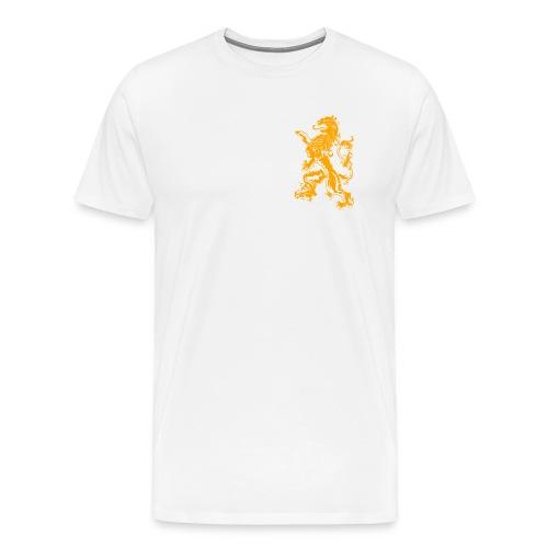 NL Leeuw Oranje Koningsdag - Mannen Premium T-shirt