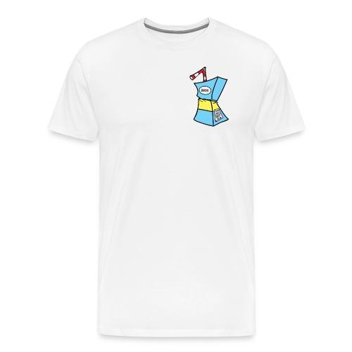juiced Logo - Mannen Premium T-shirt