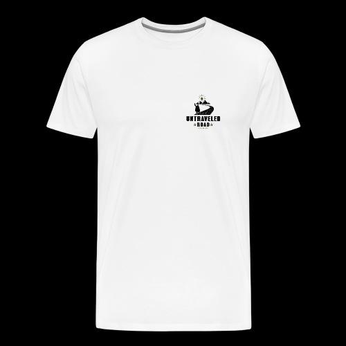 Untraveled Road Logo - black/small - Männer Premium T-Shirt