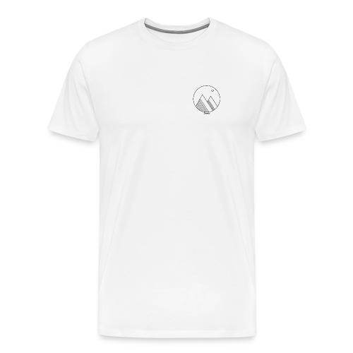 Mountains - Mannen Premium T-shirt
