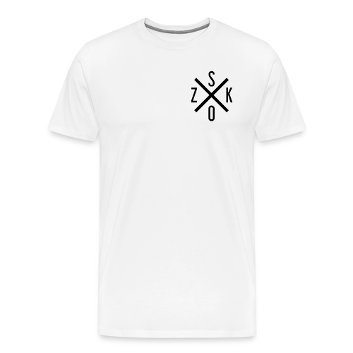 SK X OZ // BLACK - Männer Premium T-Shirt