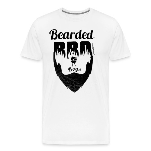 Berded BBQ Boys BLack Edition - Männer Premium T-Shirt