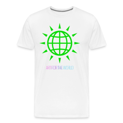 ART FOR THE WORLD / KUNST FÜR DIE WELT - Männer Premium T-Shirt