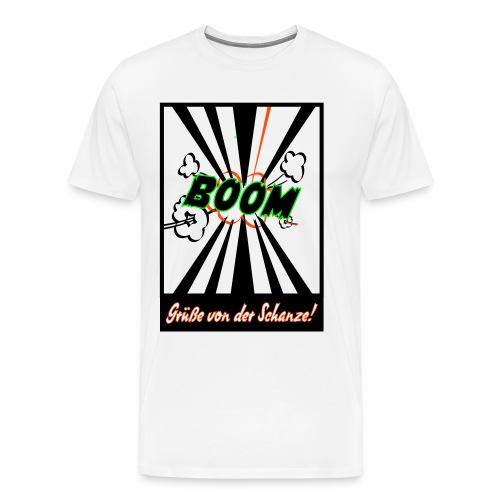 Schanzengruß - Männer Premium T-Shirt