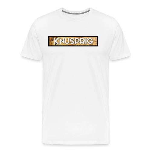 Knuspriger Merch - Männer Premium T-Shirt