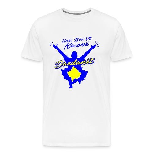 Kosovo ich bin dein Kind | Dardanët - Männer Premium T-Shirt