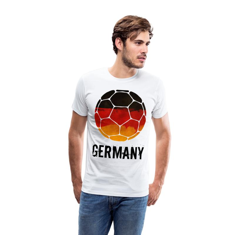 tee shirt allemagne football spreadshirt. Black Bedroom Furniture Sets. Home Design Ideas