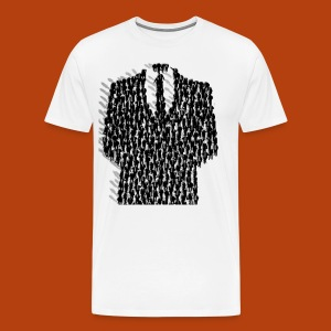 Anonymous Smoking - T-shirt Premium Homme