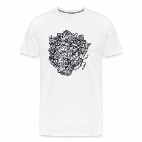Crazy Duck - T-shirt Premium Homme