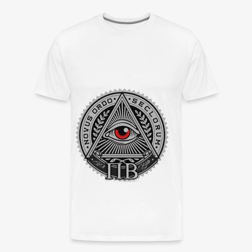 PIBETA - Maglietta Premium da uomo