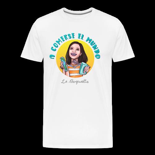La Cooquette Mundo - Camiseta premium hombre