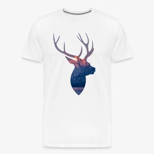 Hirsch T-Shirt - Männer Premium T-Shirt