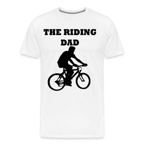The riding dad T-Shirt - Männer Premium T-Shirt