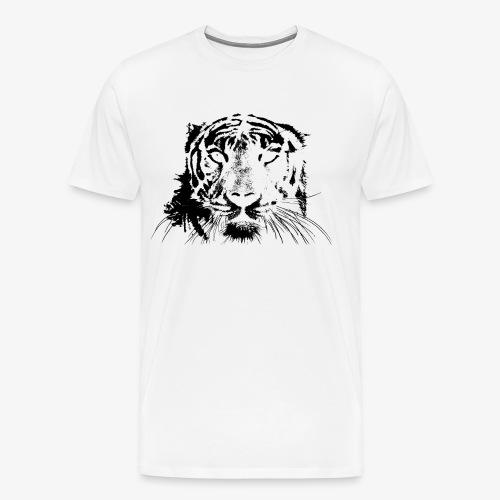 BLACK TIGER - Camiseta premium hombre