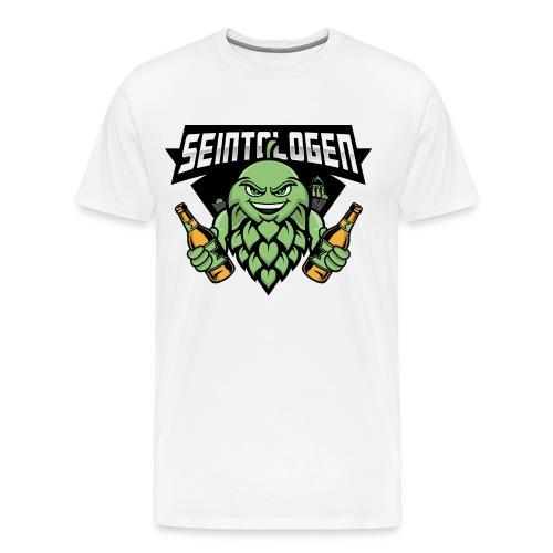 Seintologen Double - Männer Premium T-Shirt