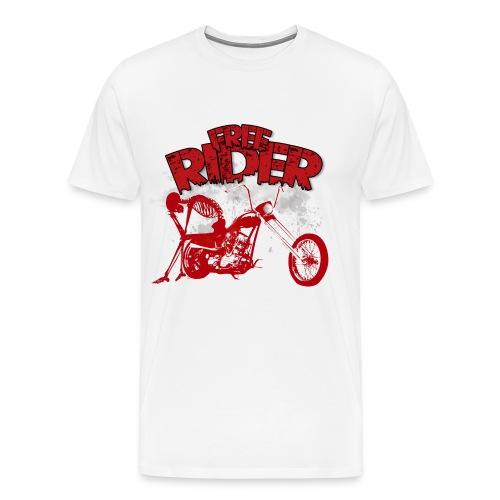FREE RIDER - Camiseta premium hombre