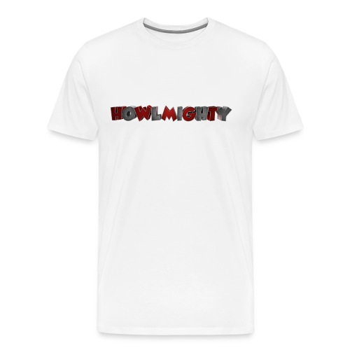 Howlmighty Red - Maglietta Premium da uomo