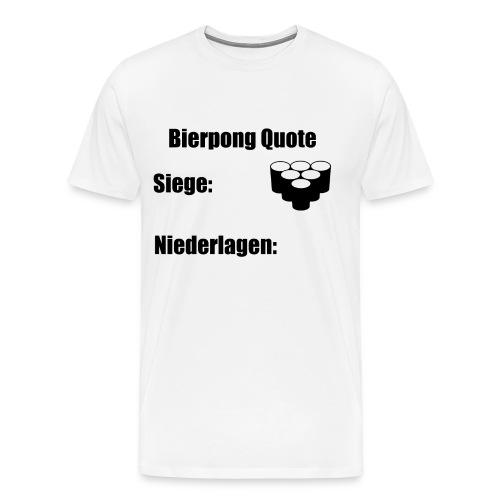 Bierpong - Männer Premium T-Shirt