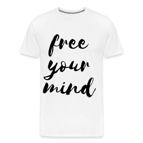 Yoga-Shirt - free your mind - Männer Premium T-Shirt