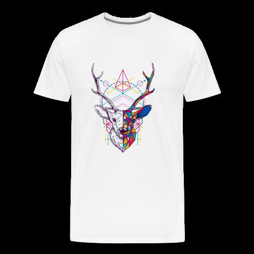 Reno Abstracto - Camiseta premium hombre