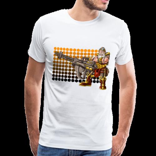 rage dwarf final 2 - Maglietta Premium da uomo