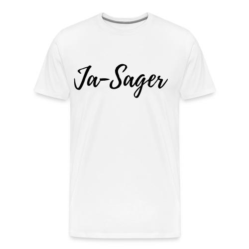 Für Deinen Liebsten: JA-SAGER! - Männer Premium T-Shirt