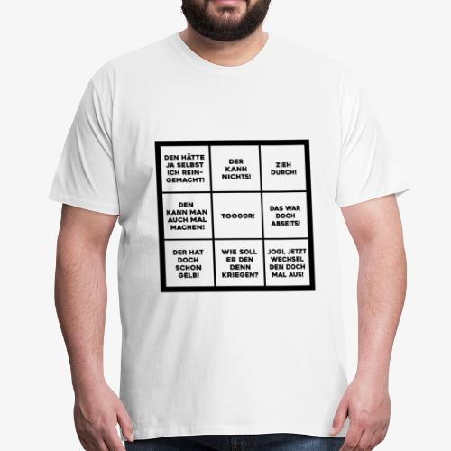 WM Bingo - Männer Premium T-Shirt