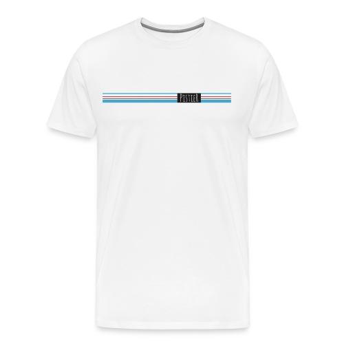 pistier koersen in de velodroom - Mannen Premium T-shirt