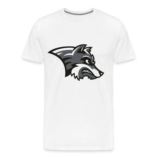 Wolf-Shirt by Noi & weiteren Anonymen Leuten - Männer Premium T-Shirt