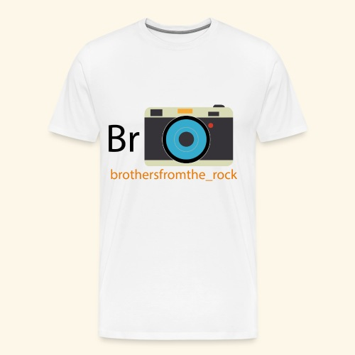 Brothers from the rock - Men's Premium T-Shirt