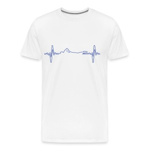 HEART RATE SWIMMER - Maglietta Premium da uomo