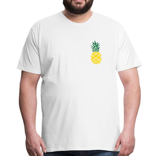 Pineapple - Mannen Premium T-shirt