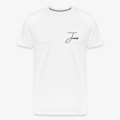 JUNIOR CLASSIC BLACK - Männer Premium T-Shirt