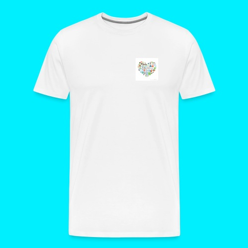 Heart image - Men's Premium T-Shirt