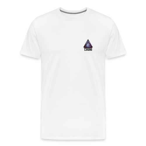 galaxy LOUMI series - Mannen Premium T-shirt