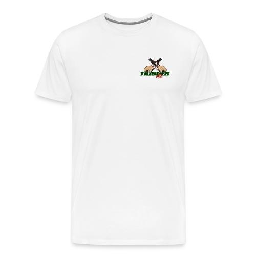Trigger Grün kleines Logo - Männer Premium T-Shirt