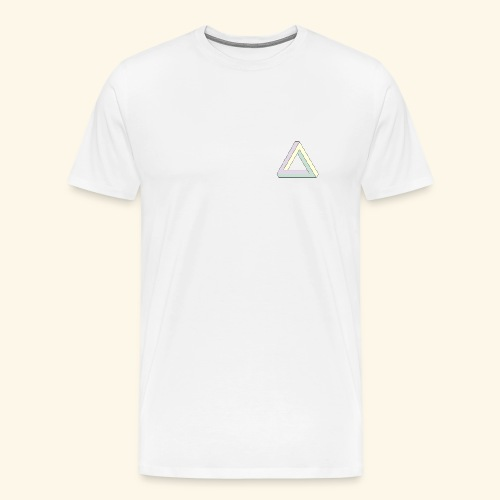 Triangle penrose - T-shirt Premium Homme