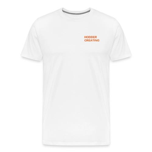 Hodder Creating Orange - Men's Premium T-Shirt