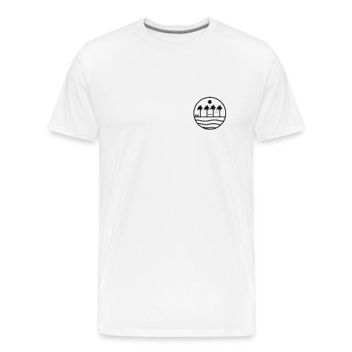 zon zee strand - Mannen Premium T-shirt