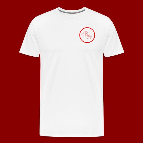 Logo Rond / Rouge - T-shirt Premium Homme