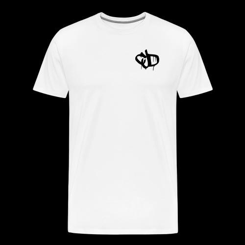 Dripping blood CJD logo - Men's Premium T-Shirt